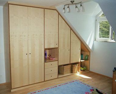 Ahorn Kinderzimmmer - Schlafzimmer Möbel aus Holz ...