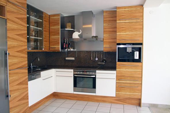 k che in olivenholz k chen schreiner m nchen. Black Bedroom Furniture Sets. Home Design Ideas